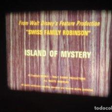 Cine: SWISS FAMILY ROBINSON-(ISLAND OF MYSTERY),CORTOMETRAJE-SUPER 8 MM VINTAGE FILM,V.O.ENGLISH. Lote 254374250