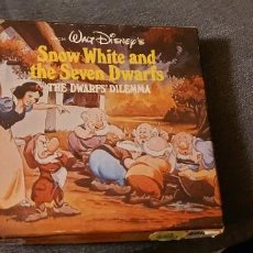 Cine: PELÍCULA DE CINE SÚPER 8. SHOW WHITE AND THE SEVEN DWARFS. Lote 254762915