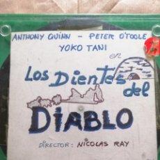 Cine: LOS DIENTES DEL DIABLO EN TRES BOBINAS DE 120 M. SUPER 8.COLOR SONORA. Lote 254884930