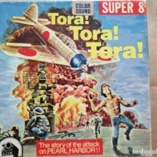 Cine: TORA, TORA TORA¡,EN BOBINA DE 120 M. SUPER 8,COLOR SONORA, EN INGLÉS.. Lote 254888805