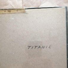 Cine: TITANIC,EN BOBINA DE 120 M. SUPER 8, BYN SONORA, EN INGLÉS. VERSIÓN DE LOS AÑOS 30. Lote 254889435