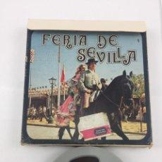 Cine: ANTIGUO FILM DE SUPER 8 LA FERIA DE SEVILLA. Lote 254955520