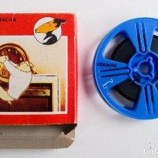Cine: LAS URRACAS 2 PELICULA DIBUJOS ANIMADOS SUPER 8 BUEN ESTADO AÑOS 70 PROYECTOR DVD VHS BIANCHI. Lote 257884860