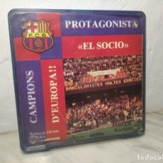 Cine: PELÍCULA SUPER 8 DISFILMSA - FC BARCELONA VS FORTUNA - PROTAGONISTA EL SOCI - CAMPIONS D´EUROPA 1979. Lote 262953365