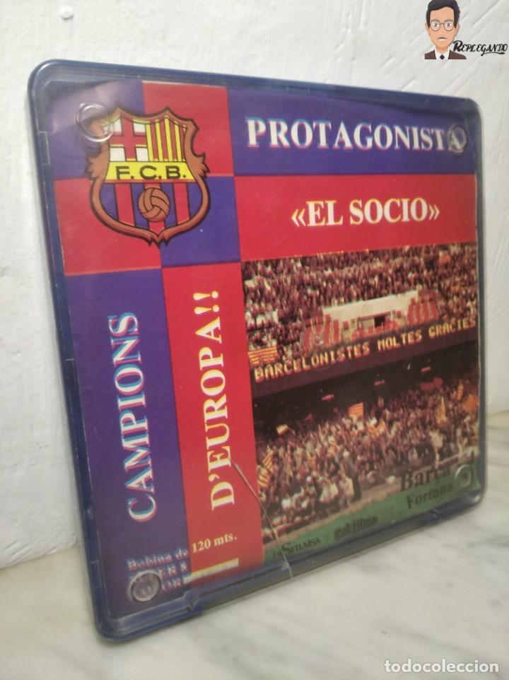 Cine: PELÍCULA SUPER 8 DISFILMSA - FC BARCELONA VS FORTUNA - PROTAGONISTA EL SOCI - CAMPIONS D´EUROPA 1979 - Foto 2 - 262953365