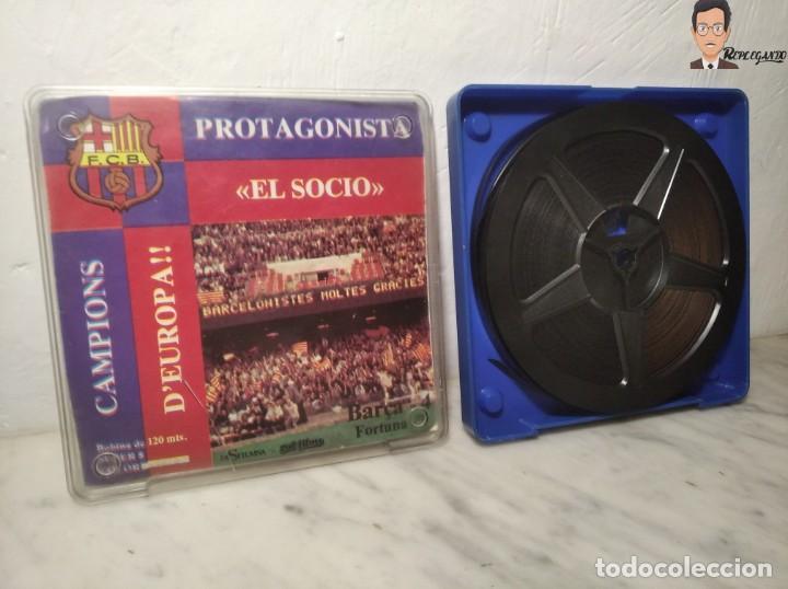 Cine: PELÍCULA SUPER 8 DISFILMSA - FC BARCELONA VS FORTUNA - PROTAGONISTA EL SOCI - CAMPIONS D´EUROPA 1979 - Foto 4 - 262953365