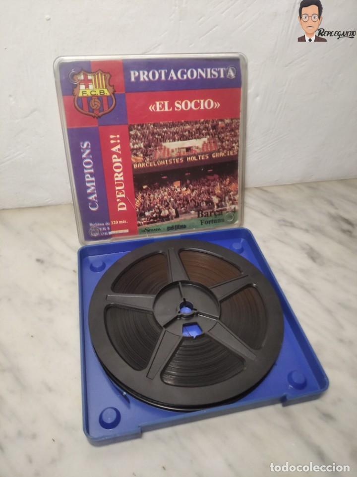 Cine: PELÍCULA SUPER 8 DISFILMSA - FC BARCELONA VS FORTUNA - PROTAGONISTA EL SOCI - CAMPIONS D´EUROPA 1979 - Foto 7 - 262953365