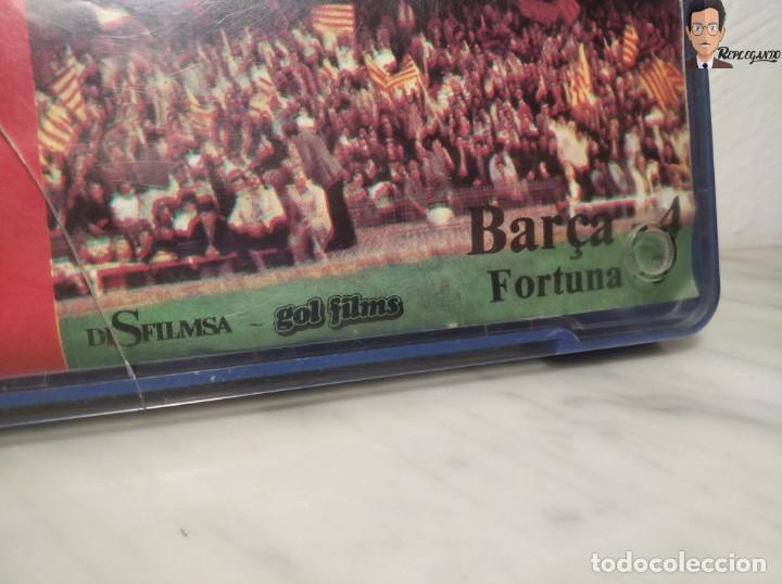 Cine: PELÍCULA SUPER 8 DISFILMSA - FC BARCELONA VS FORTUNA - PROTAGONISTA EL SOCI - CAMPIONS D´EUROPA 1979 - Foto 8 - 262953365