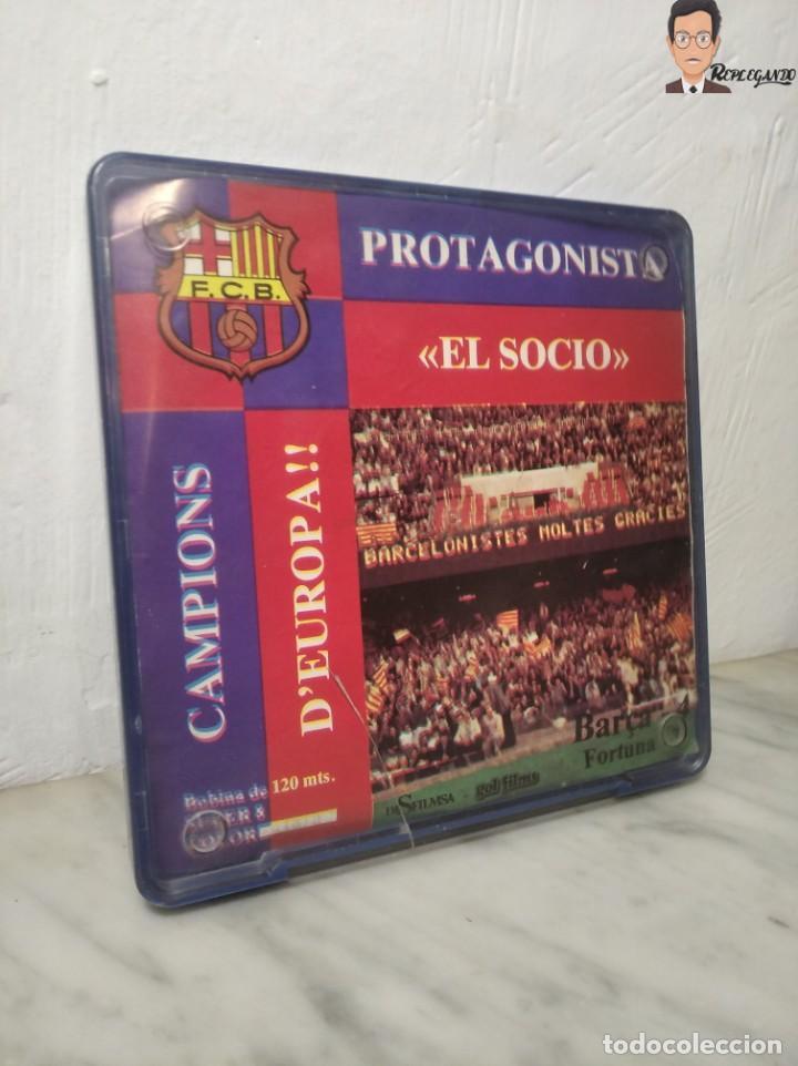 Cine: PELÍCULA SUPER 8 DISFILMSA - FC BARCELONA VS FORTUNA - PROTAGONISTA EL SOCI - CAMPIONS D´EUROPA 1979 - Foto 10 - 262953365