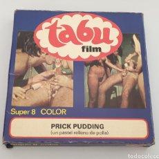 Cine: SUPER 8 PORNO ADULTOS: PRICK PUDDING (UN PASTEL RELLENO DE POLLA) TABU FILM. Lote 263611850