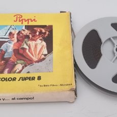 Cine: SUPER 8MM PIPPI CALZASLARGAS HUMO Y AL CAMPO (BETA FILMS). Lote 263612650