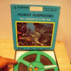 Cine: MUNDO SUMARINO PELICULA DE CINE SUPER8. Lote 263691470