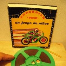 Cine: UN JUEGO DE NIÑOS PELICULA DE CINE SUPER8. Lote 263696340
