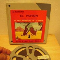 """Cine: VIDA ANIMADOS """"EL PAPION"""" PELICULA DE CINE SUPER8. Lote 263698100"""