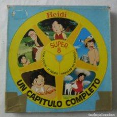 Cine: HEIDI PELÍCULA SUPER 8MM, 1976 VINTAGE FILM, TRUENO DE PRIMAVERA, FILM COLOR-SONORO EN ESPAÑOL. Lote 267652354