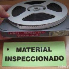 Cine: SUECIA,NORUEGA,ETC...1970 HOME MOVIE UNICA FILM CINE SUPER8,COLOR 120MTS. Lote 267869999
