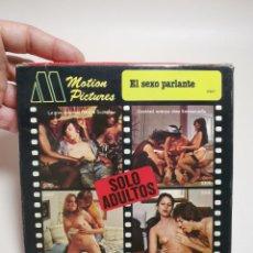 Cine: PELICULA SUPER 8 MM--- 60 METROS-- MOTION PICTURES--EL SEXO PARLANTE---EROTICA-PORNOGRAFIA. Lote 268406494