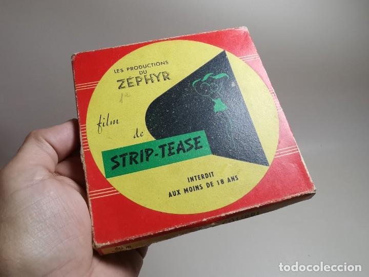 Cine: PELICULA 8 MM--- 60 METROS--AÑOS 50 -STRIP-TEASE LES FILMS HEFA-ZEPHYR - Foto 2 - 268407439