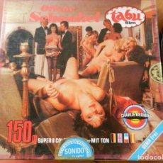 Cine: TABU FILM - OFFENE SCHENKEL/LOS MUSLOS ABIERTOS - PELÍCULA SUPER 8 - 150 M. COLOR - SOLO ADULTOS.. Lote 269639653