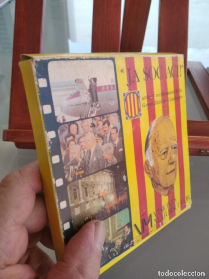 Cine: JA SOC ACI ! AMB EL RETROBAMENT DE LA GENERALITAT DE CATALUNYA-PELICULA EN SUPER 8 mm-ver - Foto 2 - 274255038