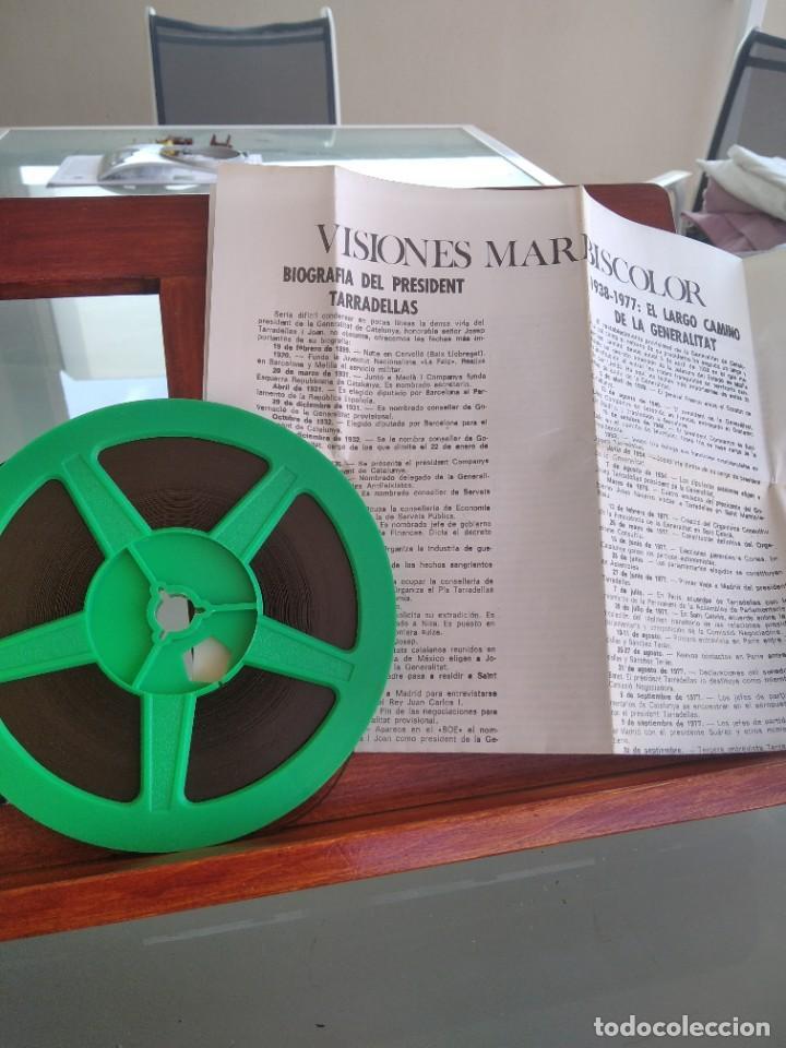 Cine: JA SOC ACI ! AMB EL RETROBAMENT DE LA GENERALITAT DE CATALUNYA-PELICULA EN SUPER 8 mm-ver - Foto 4 - 274255038