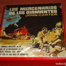Cine: LARGOMETRAJE SUPER 8 LOS MERCENARIOS DE LOS DIAMANTES 4 X 180 METROS. Lote 276745608