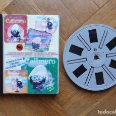 """Cine: ESPECIAL """"CALIMERO"""" TRES CORTOS CLASICOS DIBUJOS ANIMADOS SUPER 8 MM VINTAGE FILM - REF: 360. Lote 279495578"""