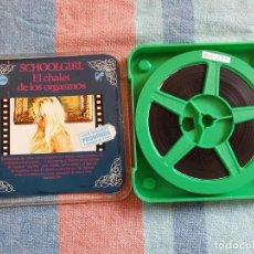 Cine: SCHOOLGIRL - EL CHALET DE LOS ORGASMOS - 1 X 90 MTS SUPER 8 MM, RETRO VINTAGE FILM. Lote 279495668
