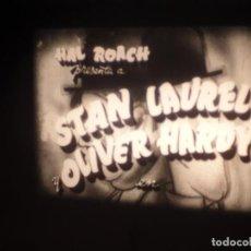 Cine: HOG WILD ( RADIOMANIA ) LAUREL & HARDY- PELÍCULA SUPER 8 MM RETRO-VINTAGE FILM. Lote 279496018