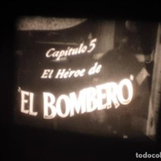 Cine: THE FIREMAN ( CHARLOT BOMBERO ) CHARLIE CHAPLIN PELÍCULA SUPER 8 MM RETRO-VINTAGE FILM. Lote 279496138