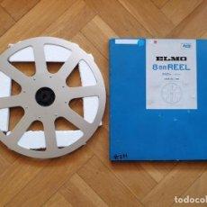 Cine: BOBINE ET BOITE ELMO ORIGINAL - VINTAGE POUR FILM ET PROJECTEUR SUPER 8 MM, 360 METRES # 231. Lote 279496718
