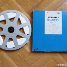 Cine: BOBINE ET BOITE ELMO ORIGINAL - VINTAGE POUR FILM ET PROJECTEUR SUPER 8 MM, 360 METRES # 233. Lote 279496898