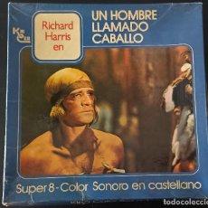 Cine: SUPER 8-UN HOMBRE LLAMADO CABALLO, PELICULA COMPLETA, 3 BOBINAS DE 180 M.RICHARD HARRIS.. Lote 288533623