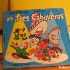 Cine: LOS TRES CABALLEROS. PELÍCULA EN SUPER 8.. COLOR Y SONORA.. Lote 289467308