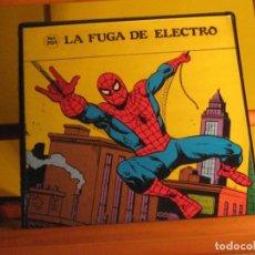 Cine: SPIDERMAN. LA FUGA DE ELECTRO. SUPER 8. COLOR, SONIDO Y EN ESPAÑOL. REF. 701. Lote 289469843
