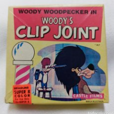 Cine: PELICULA SUPER 8 WOODY'S CLIP JOINT. COLOR, CASTLE FILMS.. Lote 290863563
