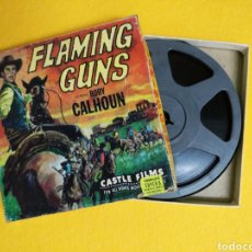 Cine: PELICULA SUPER 8MM FLAMING GUNS. Lote 295530938