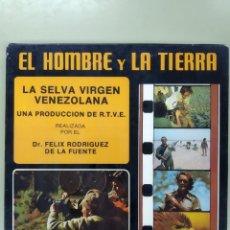 Cine: EL HOMBRE Y LA TIERRA. LA SELVA VIRGEN VENEZOLANA. FELIX RODRIGUEZ DE LA FUENTE. SUPER 8 MM. Lote 295536448