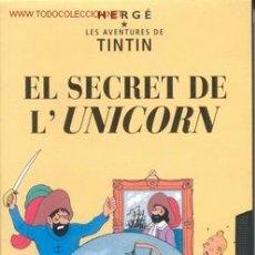 Cine: EL SECRET DE L'UNICORN -ORIGINAL-. Lote 27197486
