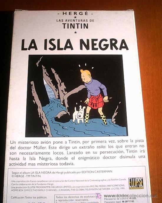 Cine: COLECCION DE 14 CINTAS VHS DE LAS AVENTURAS DE TINTIN (ver fotos) - Foto 2 - 27360035