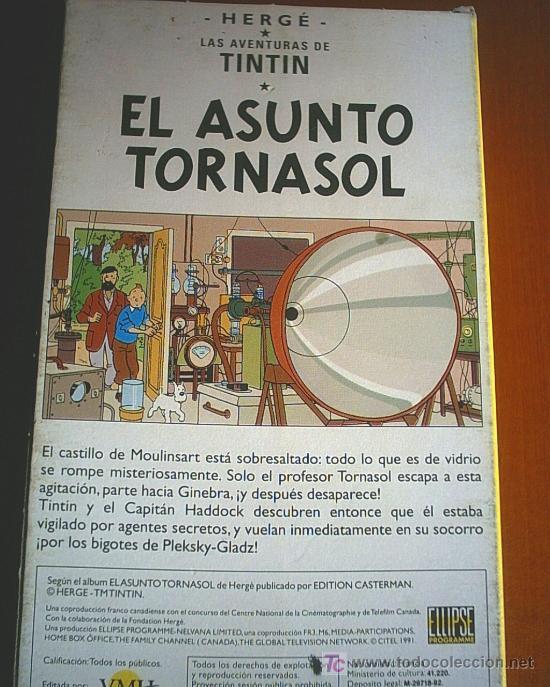 Cine: COLECCION DE 14 CINTAS VHS DE LAS AVENTURAS DE TINTIN (ver fotos) - Foto 3 - 27360035