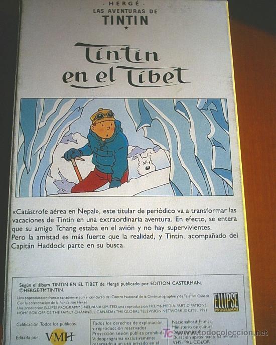 Cine: COLECCION DE 14 CINTAS VHS DE LAS AVENTURAS DE TINTIN (ver fotos) - Foto 5 - 27360035