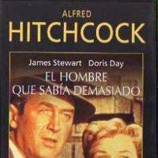 Cine: VIDEO VHS - EL HOMBRE QUE SABIA DEMASIADO - HITCHCOCK. Lote 4434645