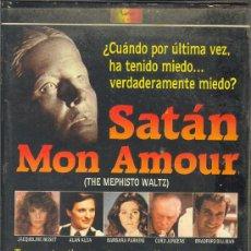 Cine: SATAN MON AMOUR - VHS9 ORIGINAL - TERROR PERVERSIDAD / ALAN ALDA , JACQUELINE BISSET , BARBARA PARK. Lote 21185911