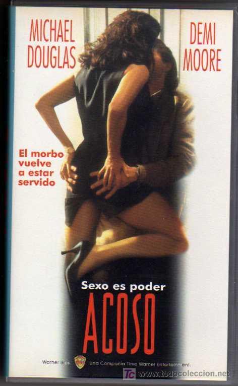 VIDEO VHS - ACOSO - MICHAEL DOUGLAS / DEMI MOORE (Cine - Películas - VHS)