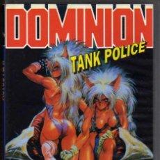 Cine: VIDEO VHS - DOMINION TANK POLICE / ACTOS I & II - MANGA VIDEO. Lote 5589097