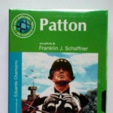 Cine: PATTON - VHS ORIGINAL COLECCIÓN EL MUNDO Nº36 - 158 MINUTOS. Lote 5907742