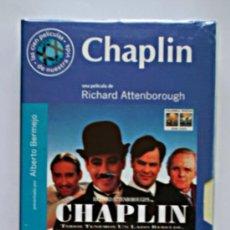 Cine: CHAPLIN - VHS ORIGINAL COLECCIÓN EL MUNDO Nº7 - 139 MINUTOS. Lote 5907763