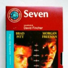 Cine: SEVEN - VHS ORIGINAL COLECCIÓN EL MUNDO Nº112 - 127 MINUTOS. Lote 5908499