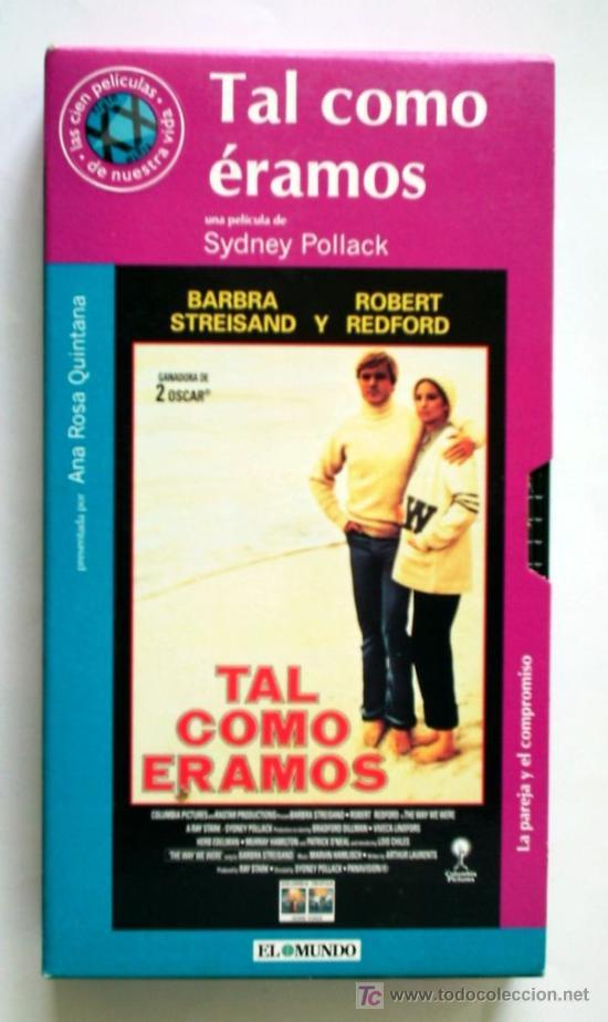 TAL COMO ÉRAMOS - VHS ORIGINAL COLECCIÓN EL MUNDO Nº81 - 113 MINUTOS (Cine - Películas - VHS)
